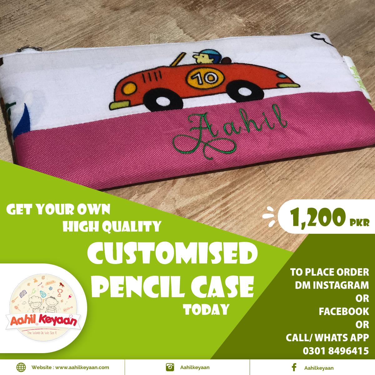 Customized Pencil Case Facebook Post Design