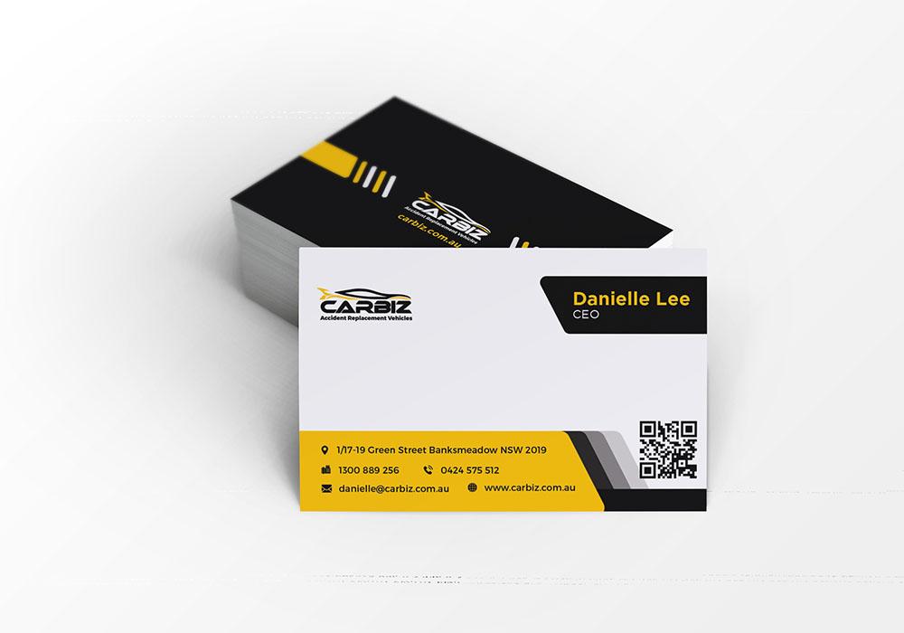 Carbiz - Business Card Design