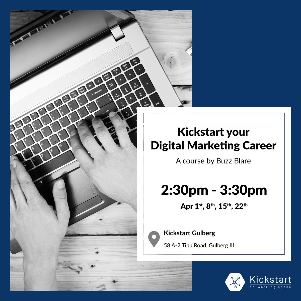 Digital Marketing Workshop - Facebook Post Design