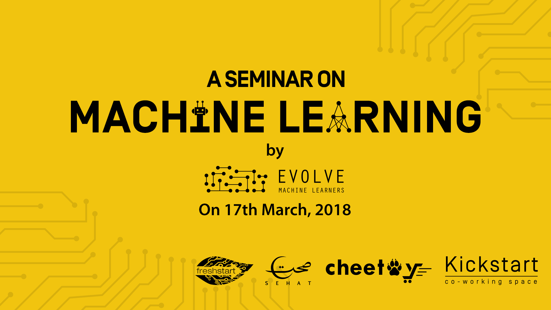 Machine Learning Seminar - Event Cover