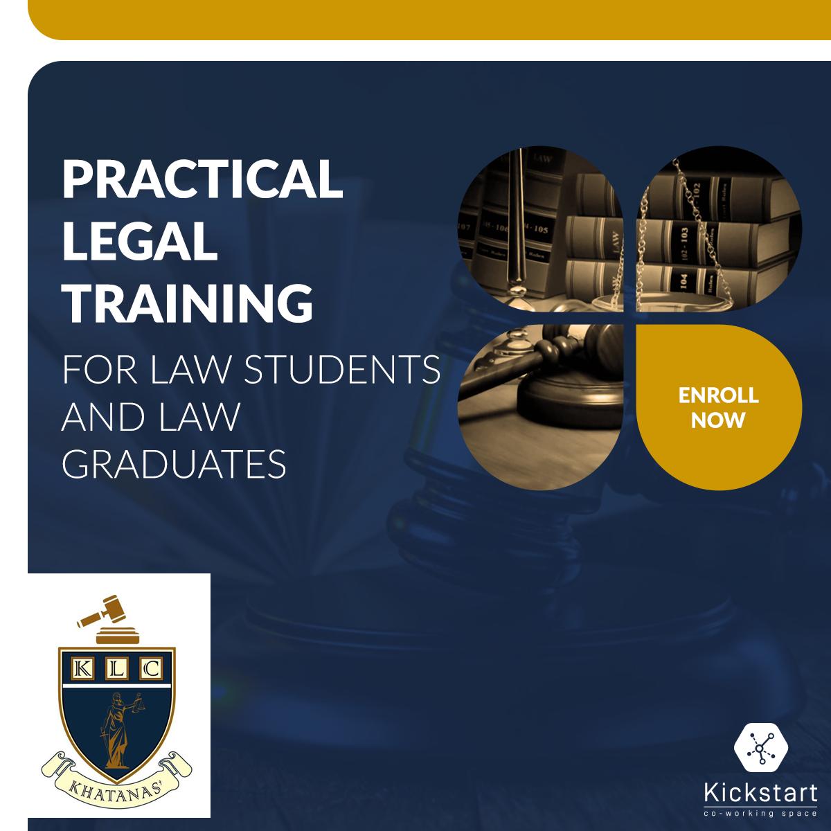Legal Training Ad - Facebook Post Design