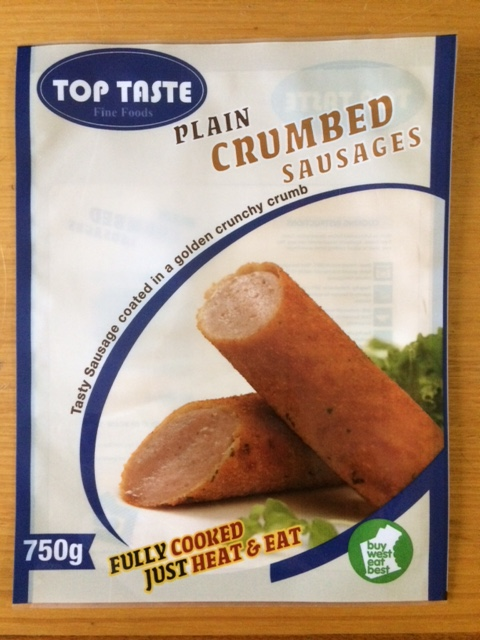 Plain Crumbed Sausages